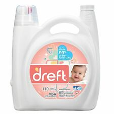 Dreft HE Liquid Laundry Detergent - 170 oz. - 110 loads NEW
