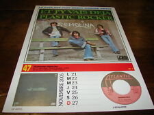 TELEPHONE & VARIATIONS - Mini poster couleurs RECTO VERSO CALENDRIER 2005