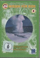 Wissen für Kids 8 - Der Yellowstone Nationalpark DVD NEU