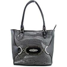 Madi Claire Makenzie Women Gray Tote