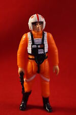 Vintage Star Wars Luke Skywalker X Wing Pilot Figure w/ Weapon Complete