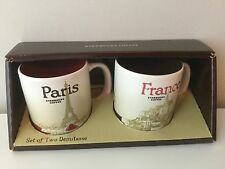 Starbucks City Mug, Paris & France, Global Icon, Collection, 3oz, DISCONTINUED !