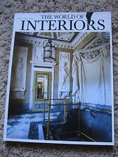 The World of Interiors Magazine May 2009  USA SELLER