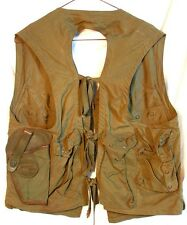 WW2 EMERGENCY SURVIVAL VEST * ARMY AIR FORCES * TYPE C-1 * with HOLSTER