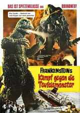 Godzilla Vs Hedorah Poster 03 A4 10x8 Photo Print