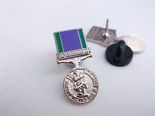 GSM GENERAL SERVICE MEDAL AIR OPERATIONS IRAQ HM ARMED FORCES LAPEL PIN BADGE