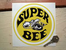 Dodge Super Bee 6 INCH ROUND classico Adesivo Auto