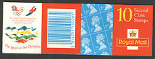 HC18 / DB19(32) Questa Olympics 10 x 2nd Class Barcode Booklet