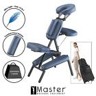 Master Professional Portable Massage Chair Tattoo Salon Spa Free Carry Case