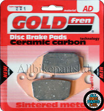 Honda CBR 150 Rear Sintered Brake Pads 2002 - Goldfren - CBR150 CBR-150