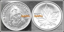 CANADA 1981 CANADIAN SIR ALEXANDER MacKENZIE MAPLE LEAF RARE TOKEN COIN UNC