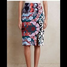 NWT ANTHROPOLOGIE MAEVE TEAROOM PENCIL SKIRT!  RARE!  SIZE XL