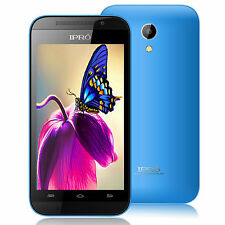 London IPRO WAVE 4.0 Unlocked Smartphone Android 4.4 Cell Phone Dual Core 2Sim