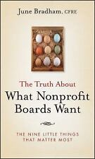 The Truth About What Nonprofit Boards Want: The Nine Little Things That Matter