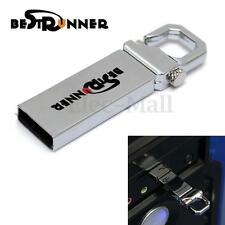 8GB USB 3.0 BESTRUNNER Metal Flash Pen Hard Drive Memory Storage Stick Clip Key