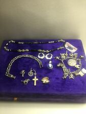 Solid Silver And Gold Joblot