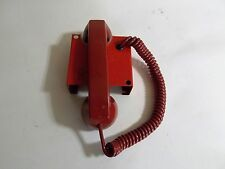 ''HOT LINE''  RED EMERGENCY FIRE STATION ALARM PHONE. EDWARDS