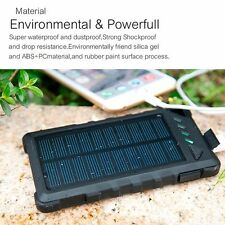 300000mAh Solar Battery Charger Dual USB High Power Bank Fast Charging For Phone