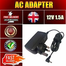 12V 1.5A UK Adaptor Power Supply Charger Acer Iconia A510  A500 A100 Tablet