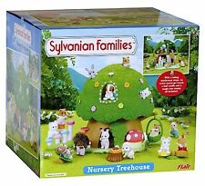 Brand New SYLVANIAN FAMILIES Nursery Treehouse ~ Cute Kids Dolls House  4608