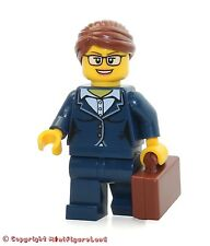 LEGO City MiniFigure: Businesswoman (Dark Blue Pants Suit, Glasses)  Set 60134