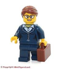 LEGO City MiniFigure: Businesswoman (Dark Blue Pants Suit, Glasses)  Set 60134
