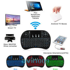 Mini Wireless Backlit Touchpad Keyboard& Air Mouse For PC Android Smart TV XBOX