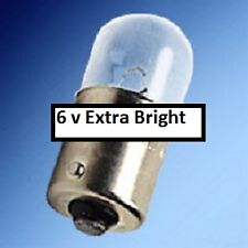 Plymouth 1946 1947 1948 extra bright tail light bulb  #63 replacement 6 volt 63