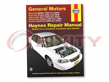 Pontiac Grand Am Haynes Repair Manual SE2 GT GT1 SE1 Shop Service Garage Boo qn