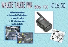 WALKIE TALKIE  RADIO E INTERNFONO  PMR 506 TX