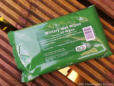BCB MILITARY CAMOUFLAGE FACE CREAM PAINT REMOVAL WET WIPES 25PK ALCOHOL FREE