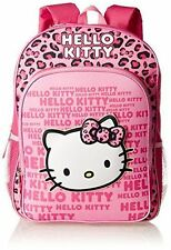 Pink Fast Forward Girl's Hello Kitty 3D Eva Molded Backpack School  nap bag