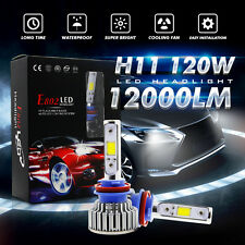 12000LM 120W H11 H8 H9 LED CREE Headlight Conversion Bulbs Kit 6000k For Altima