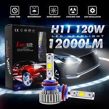 CREE 12000LM 120W H11 H8 H9 LED Headlight Conversion Bulbs Kit 6000k Bulb Lamp