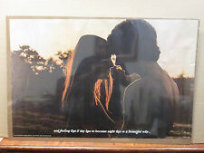 Vintage 1972 Romantic Couple quote poster love 9749