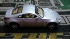Nissan Fairlady 350Z -SILVER- Kinsmart 1:34 scale Diecast Model Pull Back Action