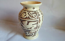 Burgess & Leigh Burleigh Ware Griffin  Pottery Vase 28 cm tall - Excellent