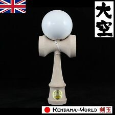Ozora PREMIUM Edition Competion Kendama White Sticky paint for performance play!