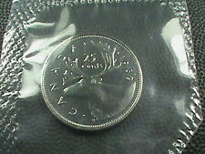 CANADA    25 cents   1969   BRILLIANT  UNCIRCULATED   ,   Mint  set