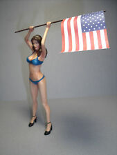 HILLARY  1/18  PAINTED  SEXY  GIRL   FIGURE   BY  VROOM   MASCOT   PHOENIX