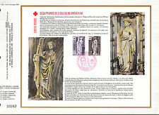 DOCUMENT CEF PREMIER JOUR 1976 SCULPTURES DE L EGLISE DE BROU
