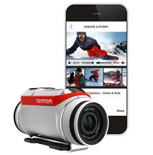 TomTom Bandit Sports 4K HD Video 16MP WiFi Bluetooth Action Camera 1LB0.001.00