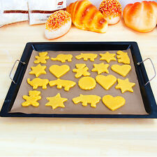 Greaseproof Silicone Oven Bakeware Baking Pad Mat Cooking Paper Kitchen Tool
