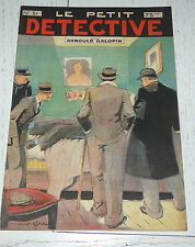 N°51 LE PETIT DETECTIVE ARNOULD GALOPIN 1930 ILLUSTRATIONS MAITREJEAN