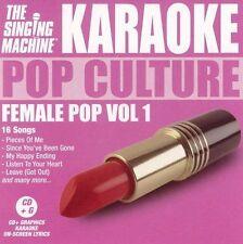 Various Artists Karaoke: Female Pop 1 CD