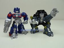 Transformers Movie 2007 Robot Heroes Action Figures OPTIMUS PRIME BLACKOUT