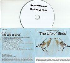 DAVID ROTHERAY The Life Of Birds 2010 UK 14-track promo test CD