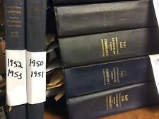 L'Automobile French Magazine Lot of 15 Bound Volumes- some Have Geo Ham Art