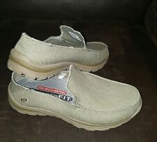 Sketchers Mens Relaxed Fit Memory Foam Canvas Shoe Size 8