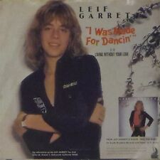"""LEIF GARRETT 'I WAS MADE FOR DANCIN' US IMPORT PICTURE SLEEVE 7"""" SINGLE"""